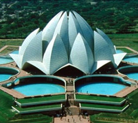Baha'i Lotus Temple, Delhi, India